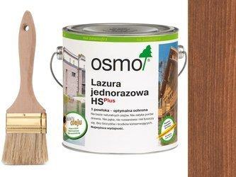 OSMO Lazura Jednorazowa 9232  MAHOŃ 2,5L + GRATIS