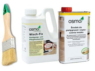 OSMO Wisch Fix 8016 1L + OSMO 3029 BEZBARWNY 1L