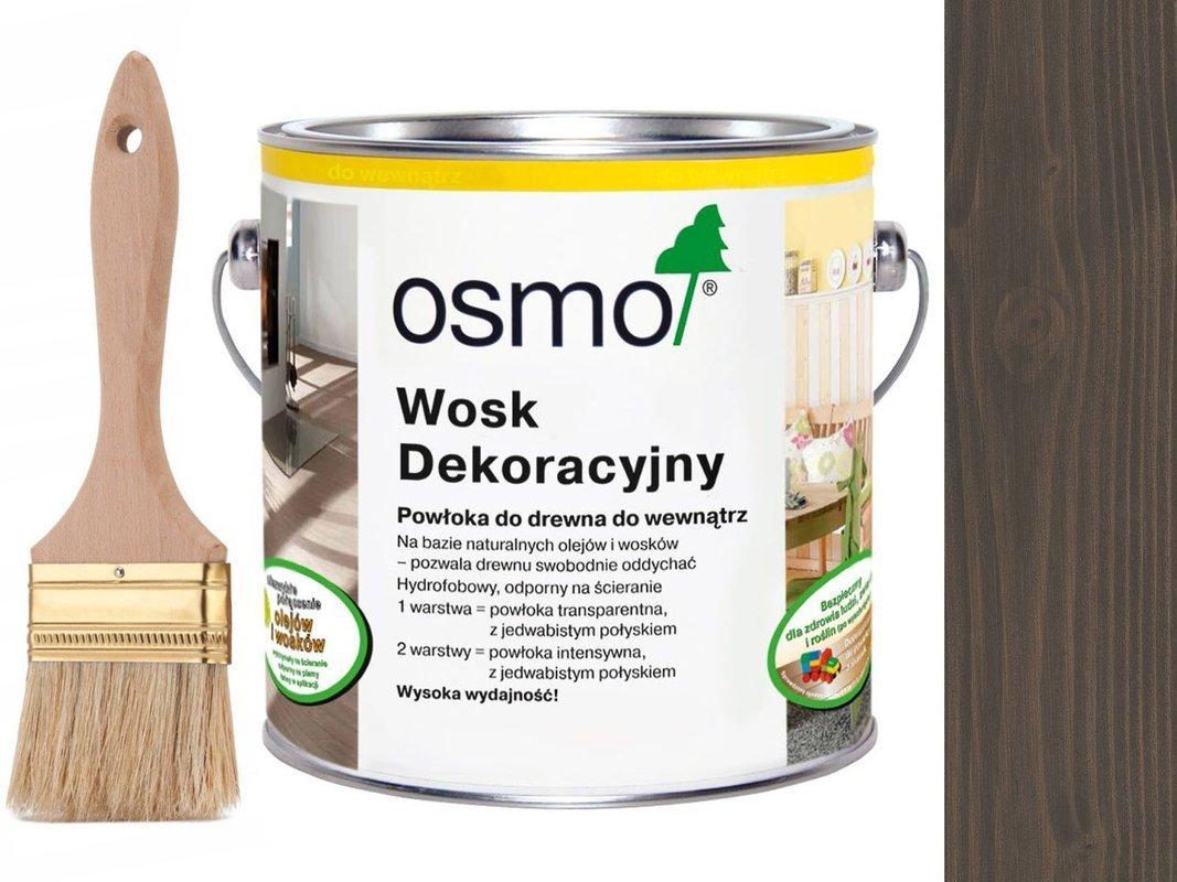OSMO 3118 wosk dekoracyjny GRANITOWY SZARY 25L