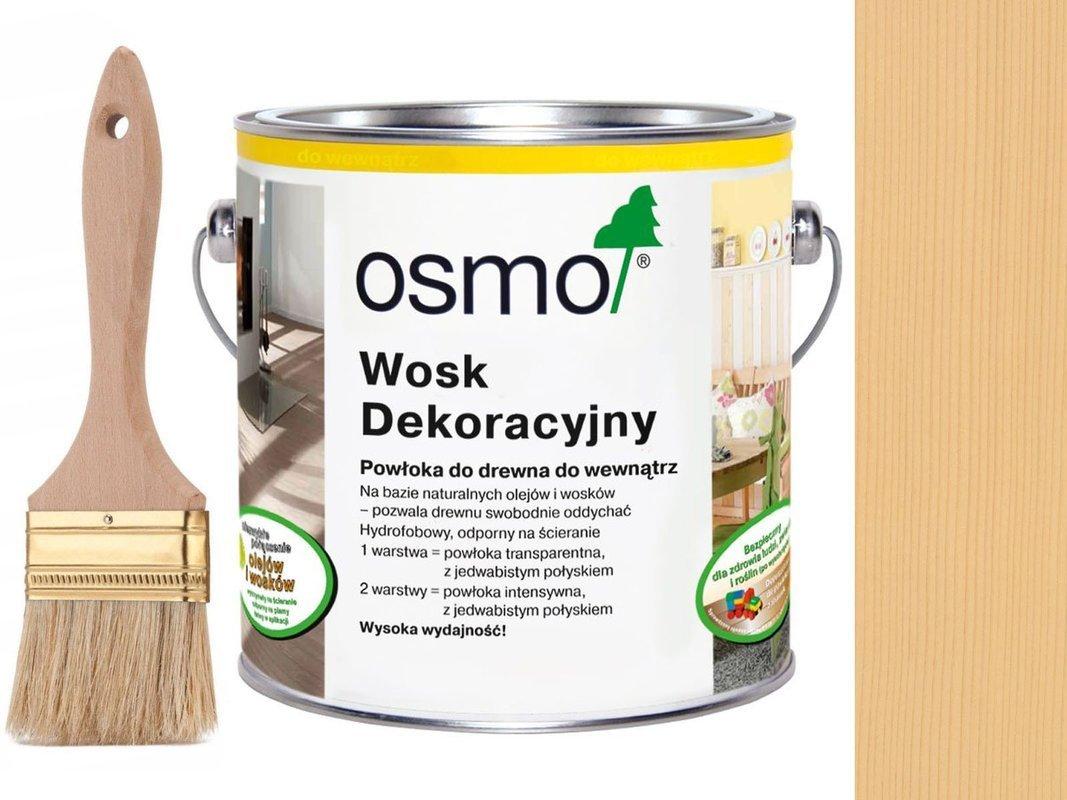 OSMO 3136 wosk dekoracyjny KOLOR BRZOZA 0,75L