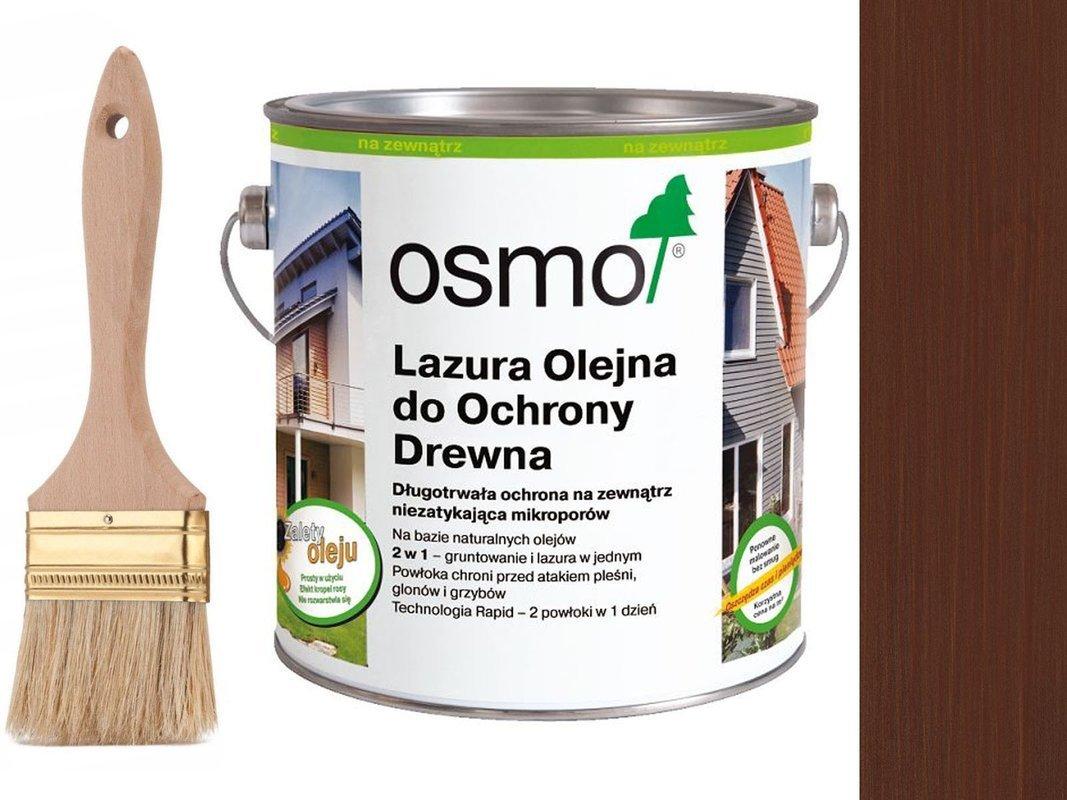OSMO 703 Lazura Ochronna do drewna MAHOŃ 750ml