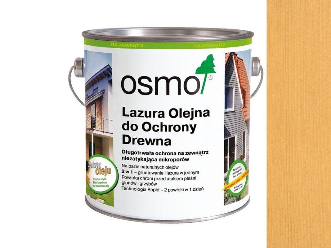OSMO 710 Lazura Ochronna do drewna PINIA 125ml