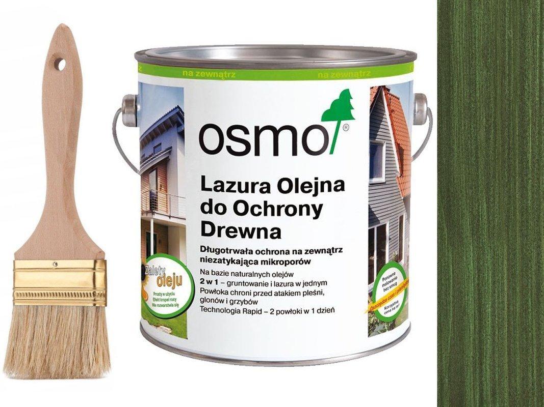 OSMO 729 Lazura Ochronna do drewna ZIELONY 25L