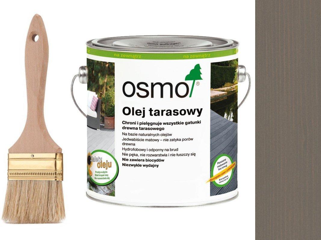 OSMO Olej do Tarasów 019 SZARY 25L + GRATIS