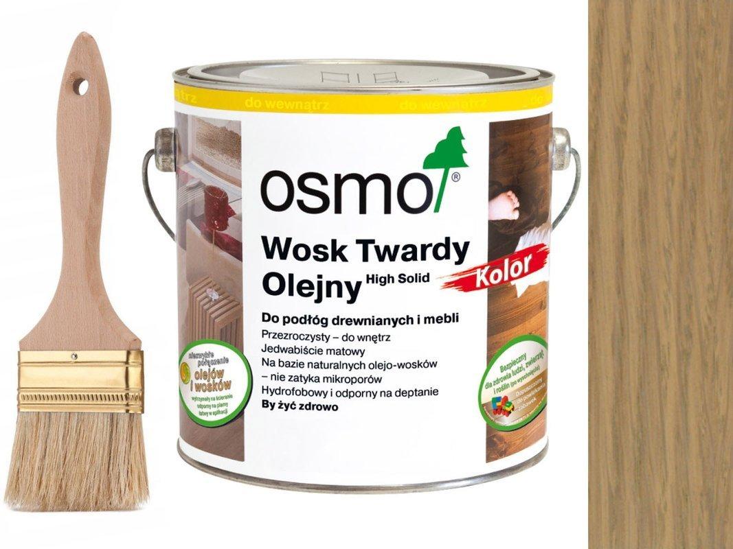 Osmo 3067 wosk twardy olejny olej 10 L JASNY SZARY