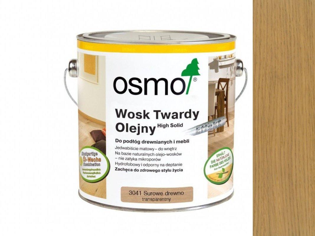 Wosk Twardy Olejny Surowe Drewno OSMO 125ml 3041